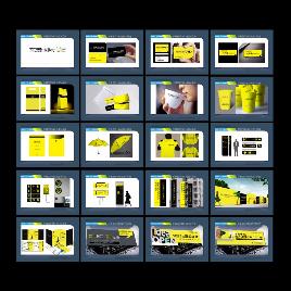 商业房地产全套VI设计模板