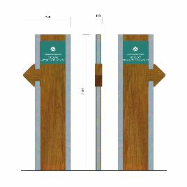 创意木质导视系统