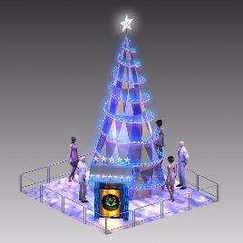 圣诞活动 圣诞树 美陈展示