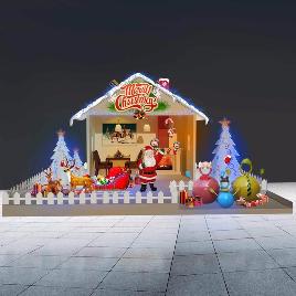 圣诞节 圣诞老人 DP点 美陈