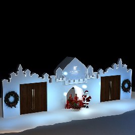 圣诞堡垒 冰雪奇缘