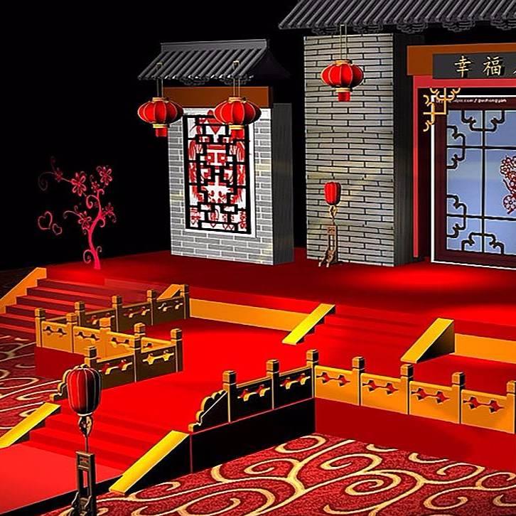 中式舞台设计