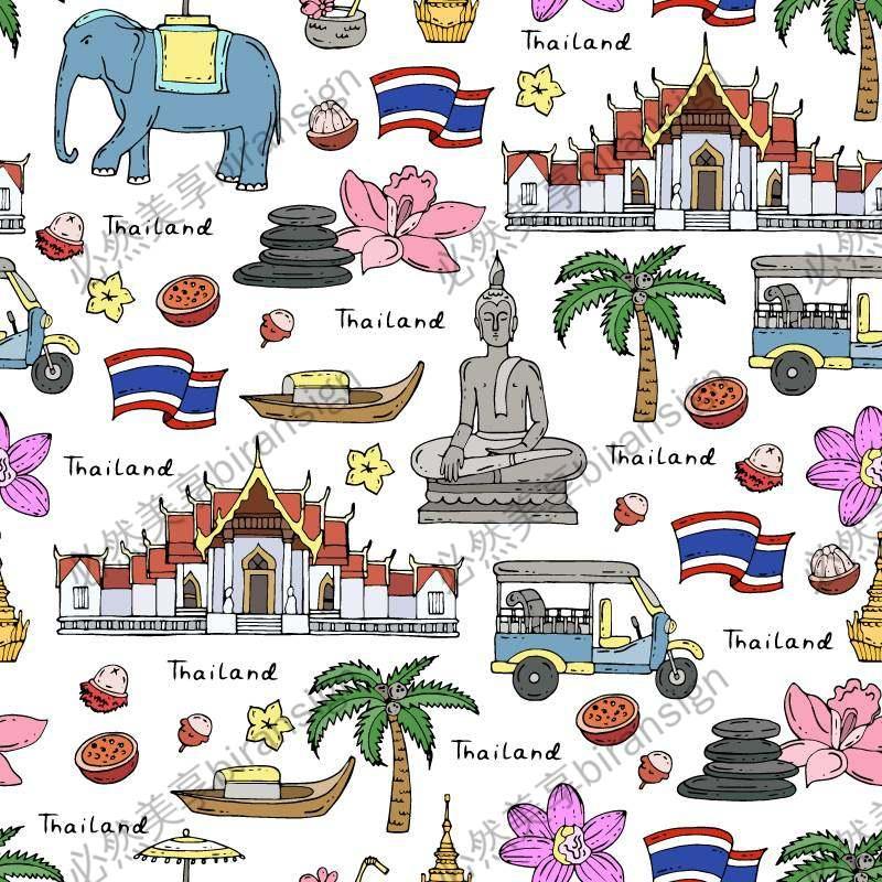 矢量泰国素材