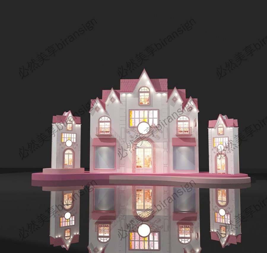 美陈城堡DP