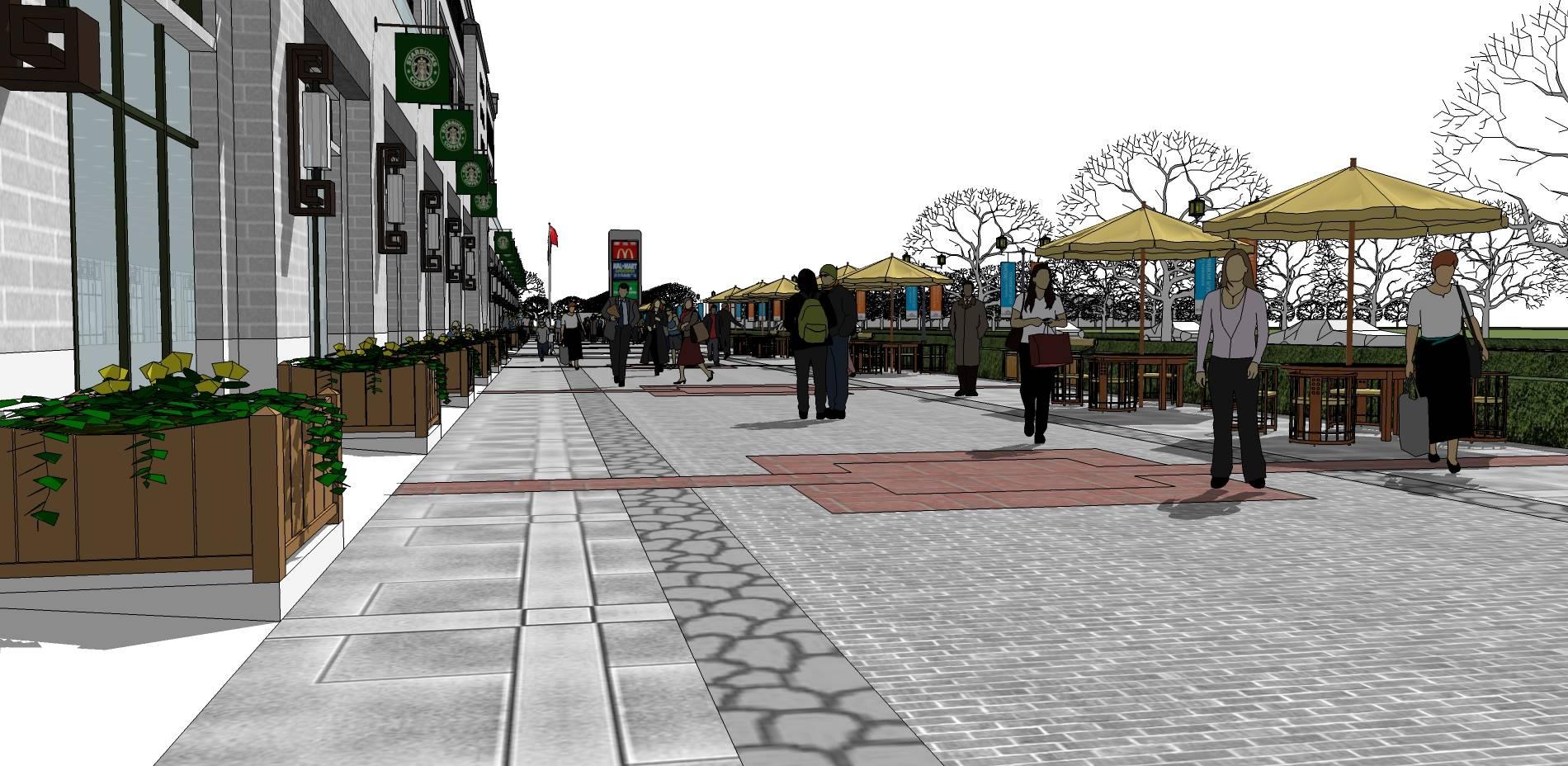 中式步行街