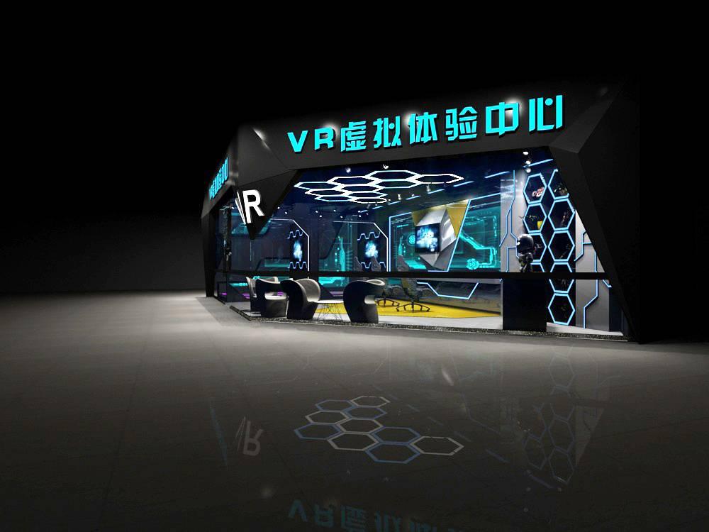 vr虚拟体验中心展厅设计