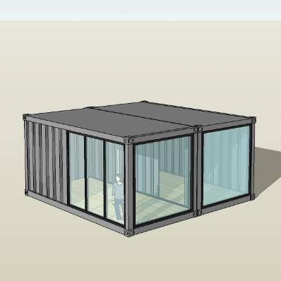 集装箱改造模型