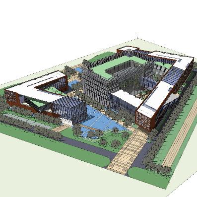 创意园区模型