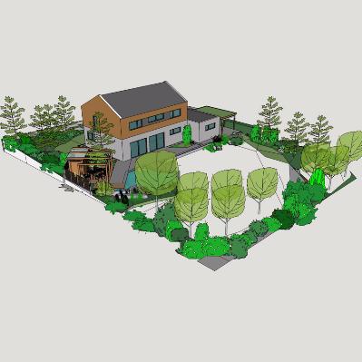中式别墅建筑