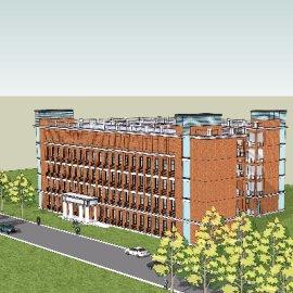 学校教学楼建筑