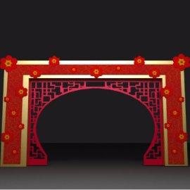 新年春节门头