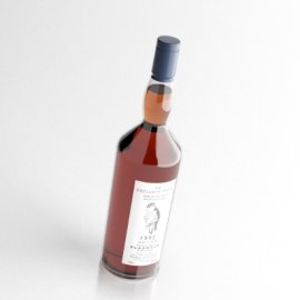 威士忌酒模型(需VRay插件)