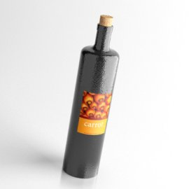 carrot酒模型(需VRay插件)