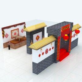 春节美陈场景