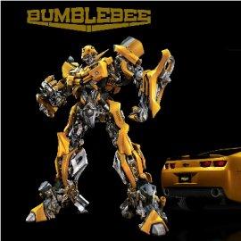 变形金刚-大黄蜂模型