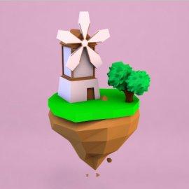 lowpoly岛屿
