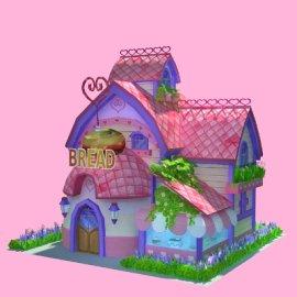 粉色小房子