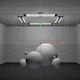 C4D灯光预设 柔光箱 Cinema 4D Light Kit