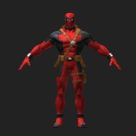 死侍3D模型