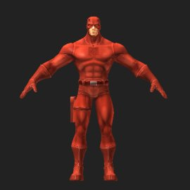 超胆侠3D模型