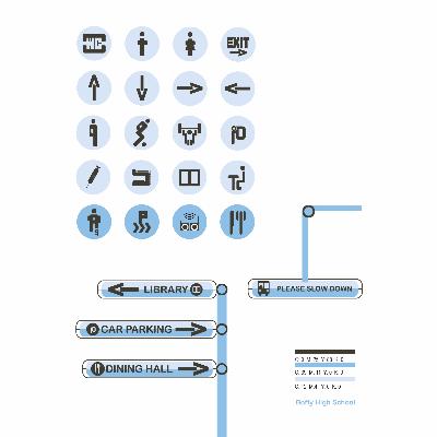 机场车站公共标识设计