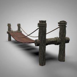 景观木桥模型