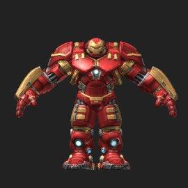 反浩克装甲3D模型