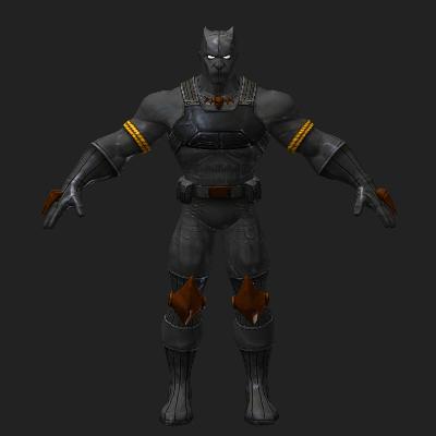 黑豹3D模型