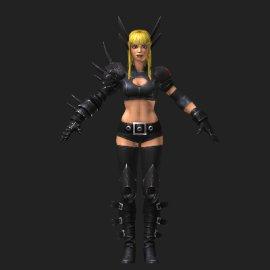 秘客3D模型