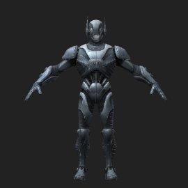 蚁人3D模型
