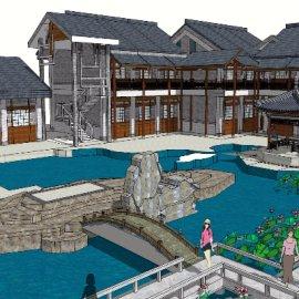 中式新古典庭院