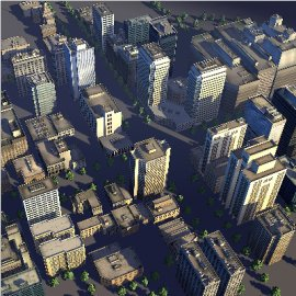 城市3D模型