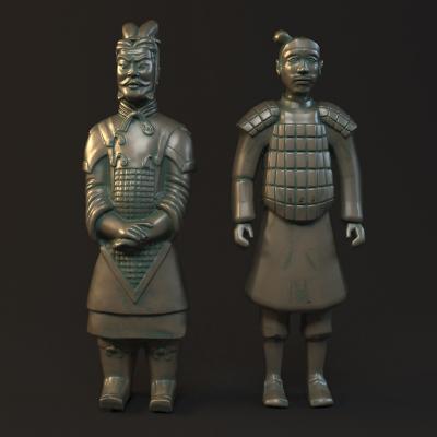 兵马俑模型