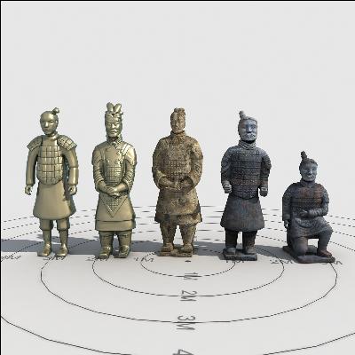 兵马俑模型集合