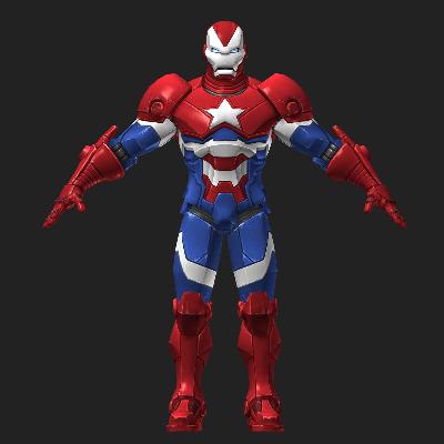 战争机器3D模型