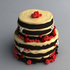 写实蛋糕模型