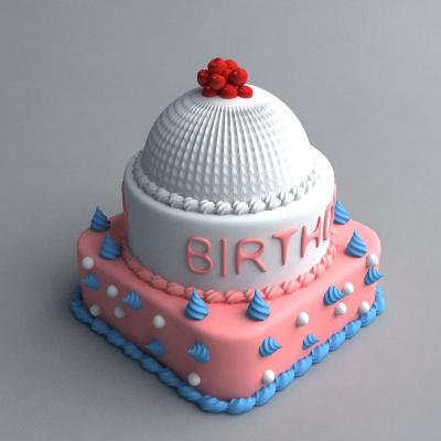 可爱蛋糕模型