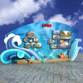 海洋展示墙