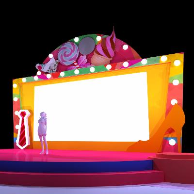 商场缤纷舞台