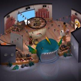 海洋主题展厅