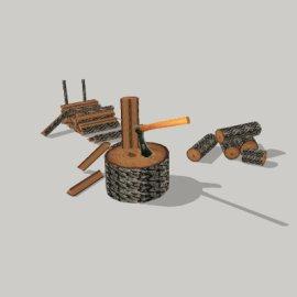劈柴su模型