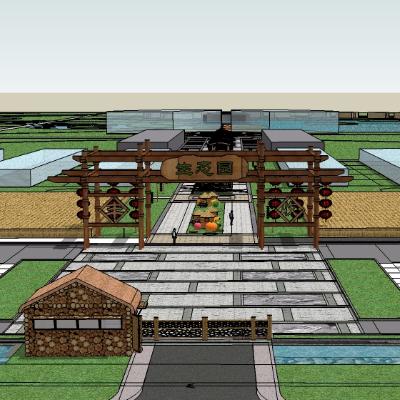生态园su模型