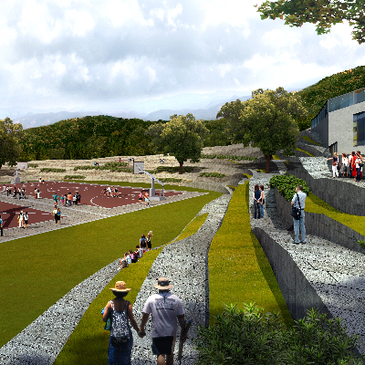 公园景观规划PSD分层素材