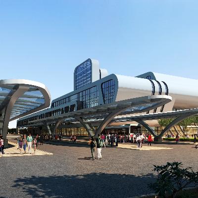 建筑景观规划PSD分层素材