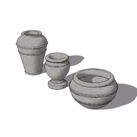 陶罐su模型