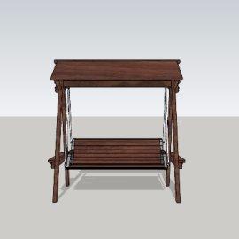 休闲摇椅su模型