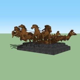 古代欧洲人像雕塑