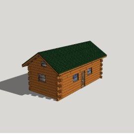 简约居住木屋