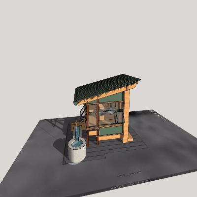 古式小木屋