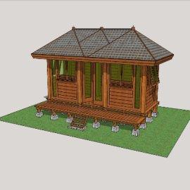 简约式小屋